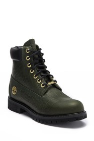Timberland 6 Inch Embossed Waterproof Premium Boot
