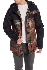Oakley Timber FN Dry 15K Waterproof Hooded Parka J