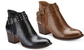 Olivia Miller Women's Chic Ankle Boots