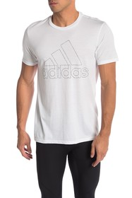 adidas Badge Of Sport Tiny Type Tee