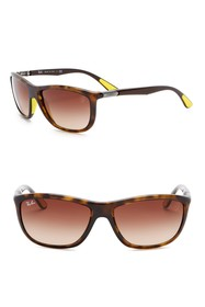 Ray-Ban 60mm Ferrari Square Sunglasses