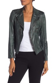 Insight Faux Leather Moto Jacket