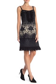Anna Sui Floral Jacquard Dress