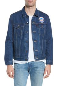 Levi's Levi's(R) MLB Mets Denim Trucker Jacket
