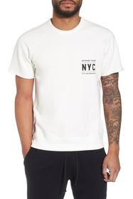 REIGNING CHAMP Cutoff Short Sleeve Sweatshirt