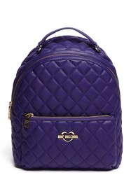 LOVE Moschino Quilted PU Leather Backpack