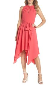 Eliza J Handkerchief Hem Dress
