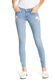 Levi's 711 Skinny Embroidered Jeans - 30\