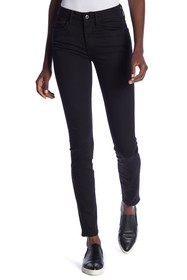 G-STAR RAW Solid Mid-Rise Skinny Jeans