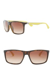 Ray-Ban 58mm Rectangle Sunglasses