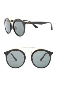 Ray-Ban Highstreet 52mm Browbar Sunglasses