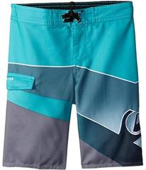 Quiksilver Slash Fade Logo Boardshorts (Toddler/Li