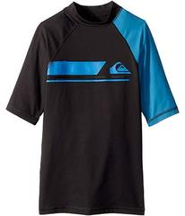 Quiksilver Active Short Sleeve Rashguard (Big Kids