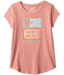 Roxy More Weekends Fashion Crew Top (Big Kids)
