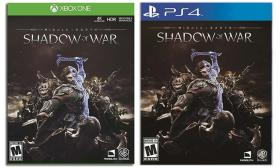 Middle Earth Shadow of War for Playstation 4 or Xb