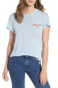 TOMMY JEANS TJW Embroidered Logo Tee