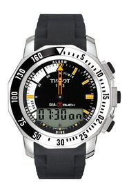 Tissot Men's Sea-Touch in Feet Sport Watch