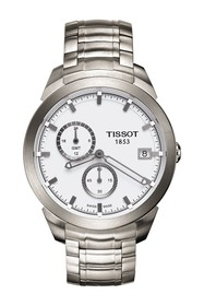 Tissot Men's Titanium GMT Bracelet Watch