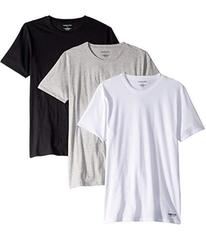 Kenneth Cole Reaction Slim Fit 3-Pack Crew Neck Te