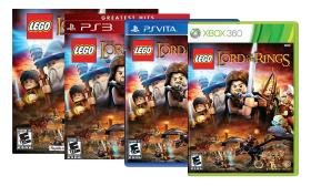 LEGO The Lord of the Rings Video Game for PS3, Vit