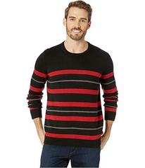 Kenneth Cole New York Long Sleeve Striped Sweater