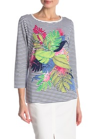 Tommy Bahama Sunset Shadow Striped Top