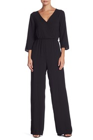 BCBGeneration Ruffle Back Jumpsuit