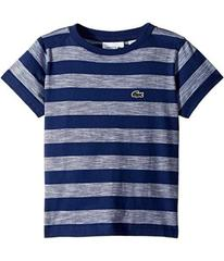 Lacoste Short Sleeve Striped Jersey T-Shirt (Toddl