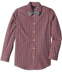 Tommy Hilfiger Long Sleeve Stretch Shirt with Bowt