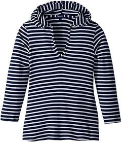 Splendid Littles Stripe Hoodie Tunic (Big Kid)