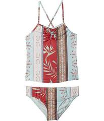 Roxy Boheme Life Tankini Swim Set (Big Kids)