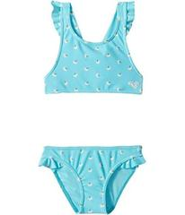 Roxy Baby Saguaro Crop Top Swim Set (Toddler/Littl