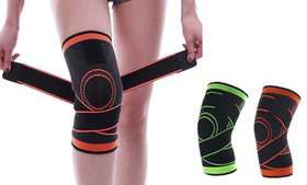Compression Knee Sleeve with Adjustable Straps Sup