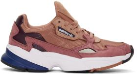 adidas Originals Pink Falcon 90s Running Sneakers