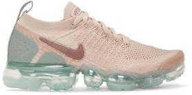 Nike Pink & Blue Air Vapormax Flyknit 2 Sneakers