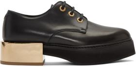 Alexander McQueen Black Creeper Derbys