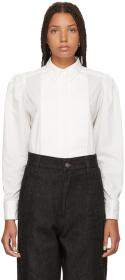 Marc Jacobs White Topstitched Shirt