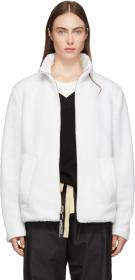 Stutterheim Reversible White Varby Zip Jacket