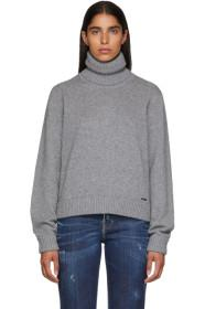 Dsquared2 Grey Wool & Cashmere Sweater