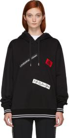 Dolce & Gabbana Black 'Love What You Want' Hoodie