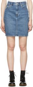 Levi's Blue Mom Miniskirt