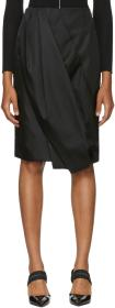 Prada Black Balloon Skirt