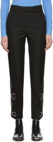 Calvin Klein 205W39NYC Black Details Trousers