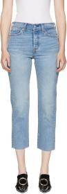 Levi's Blue Wedgie Straight Jeans