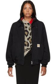 R13 Black Duck Bomber Jacket