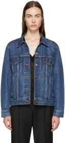 Levi's Blue Ex-Boyfriend Trucker Jacket