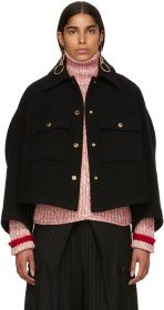 Chloé Black Loose Fitted Jacket