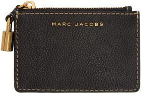 Marc Jacobs Black Logo Multi Card Holder