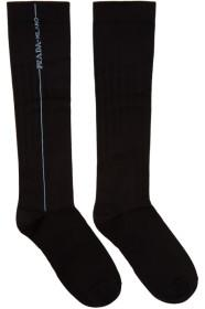Prada Black Long Line Socks
