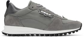 Dsquared2 Grey New Runner Hiking Sneakers
